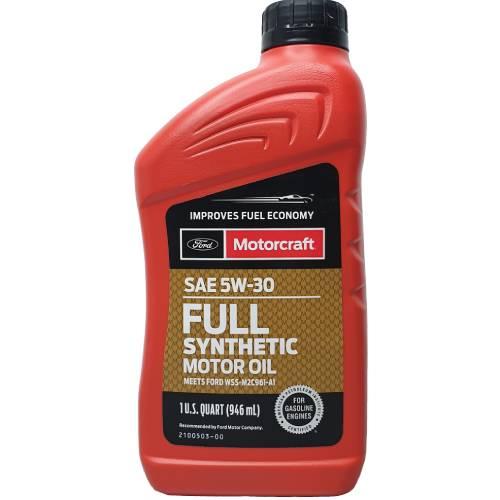 Масло MOTORCRAFT SAE 5W-30 Full Synthetic Motor Oil (1qt.)
