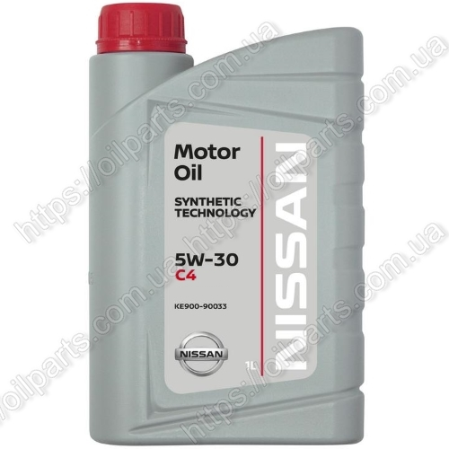 Масло Nissan Motor oil 5W-30 DPF (1л.)